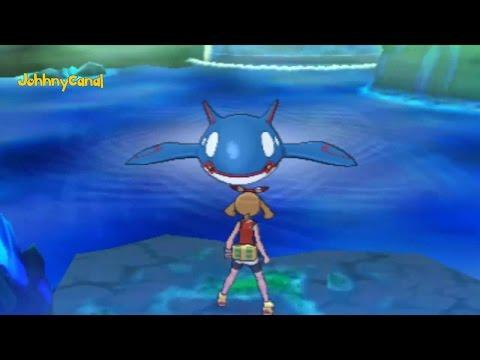 Pokemon Omega Ruby and Alpha Sapphire : Kyogre Cutscene (1080P HD)