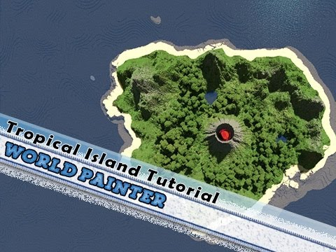 Minecraft, World Painter Tutorial Tropical Islands, By Jeracraft