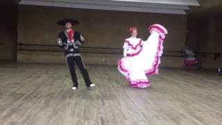 Download Learning to Dance el Jarabe Tapatío in Mexico Video