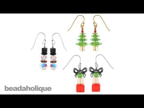 Instructions for Making the Crystal Christmas Earring Set Kit