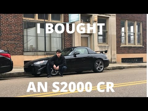 Channel Update - Honda S2000 CR Introduction