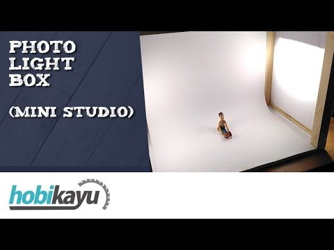 Buat Sendiri Photo Light Box (Studio Mini)
