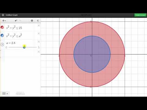 Derive the Area of a Circle by Integrating the Circumference