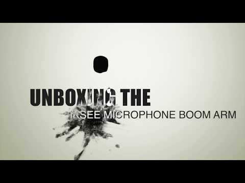Unboxing IKSee Microphone Boom Arm