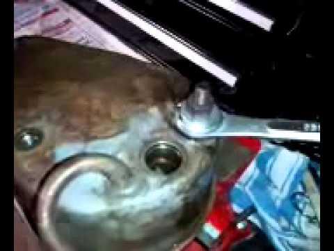 Saginaw Power Steering Pump Reservoir Removal Tip