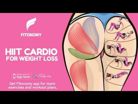HIIT CARDIO FOR WEIGHT LOSS - BIKINI BODDY
