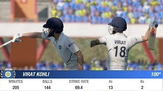 Day 1 - 2nd Test - India vs South Africa Match Prediction Highlights Cricket 19 Hard mode