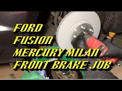 2006-2012 Ford Fusion: Front Pads and Rotors Replacement