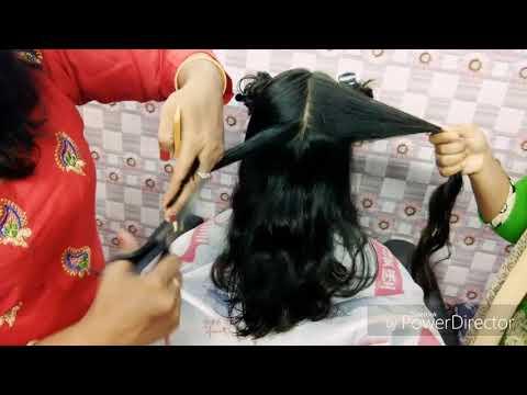 Graduation Hair cut 45° (Hindi)