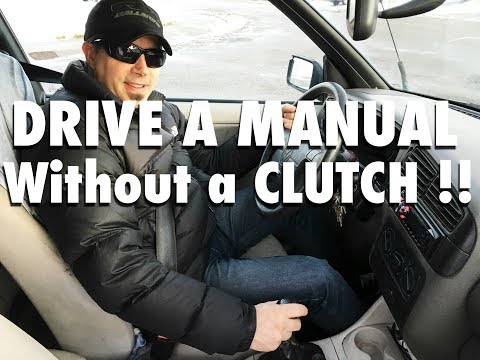 How To Drive Standard Without a Clutch  |  Manual Transmission Tutorial