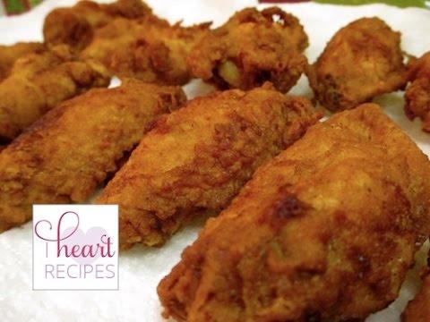 Waffle Fried Chicken | I Heart Recipes