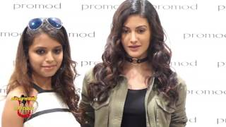 Amyra Dastur At 'Promod' Store For 'Denim Atelier' With Fashion Expert Bornali Talukdar