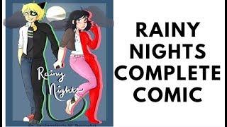 【Miraculous Ladybug Comic Dub】Rainy Nights COMPLETE COMIC