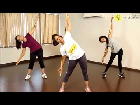 How To Do STANDING SIDE BENDS EXERCISE