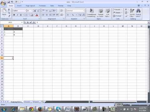 Read Write From Excel Sheet