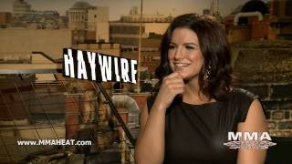 Haywire Star Gina Carano on Her 1st Major Film, Kissing Actors + Returning to MMA