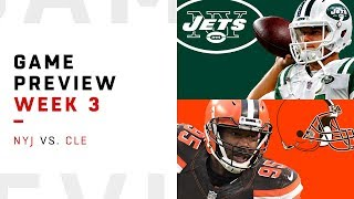 New York Jets vs. Cleveland Browns | Week 3 Game Preview | NFL Playbook