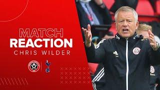 Chris Wilder   Sheffield United 3-1 Tottenham Hotspur   Premier League reaction
