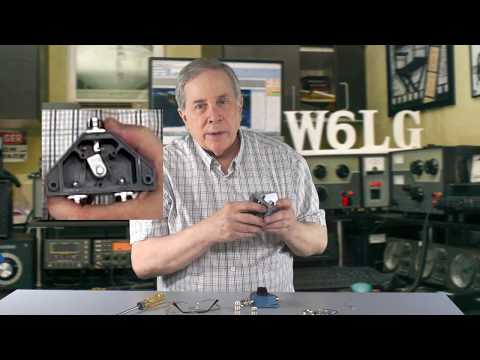Ham Radio Basics--Jim W6LG Shows How He Connects 2 HF Antennas at the Same Time