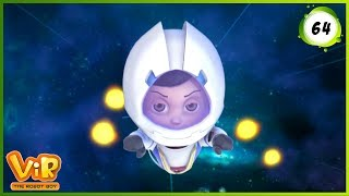 Vir: The Robot Boy | Satellite Launch | Action cartoons for Kids | 3D cartoons