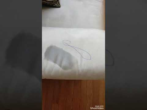 Microfiber Couch Pen Ink Mark Removal from Rubbing Alcohol