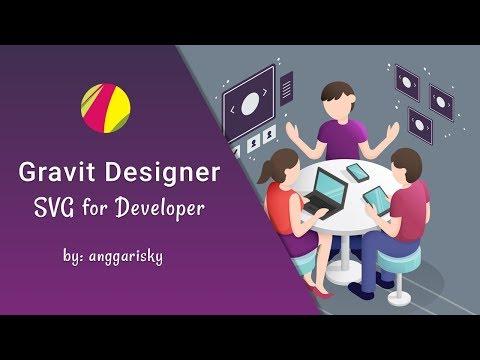 Gravit Designer Tutorial #5 - SVG for Developers
