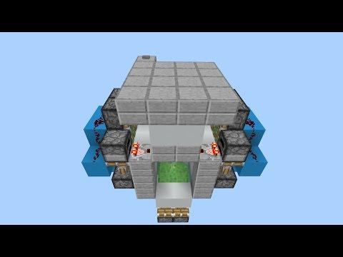 Minecraft 2x2 Hidden Two way Trapdoor (PE/Xbox/Windows10/Switch)