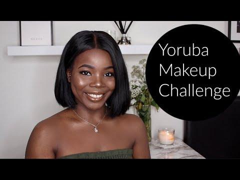 Yoruba Makeup CHALLENGE Tutorial | MsDebDeb