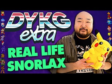 Snorlax Based On Real Person [Real Inspirations] - Did You Know Gaming? extra Ft. Greg (Pokemon)