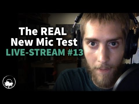 The REAL New Mic Test + Q&A's   Live-Stream #13