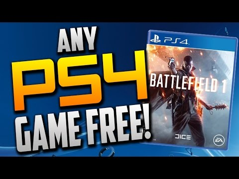 Free PS4 Games! How To Get Any PS4 Game For Free! Best PS4 Games For Free! PS4 Free Games *WORKING*