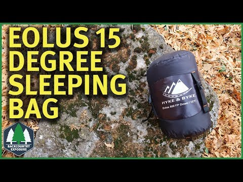 Hyke & Byke Eolus 15 Degree Sleeping Bag | A Good Cold Weather Bag?