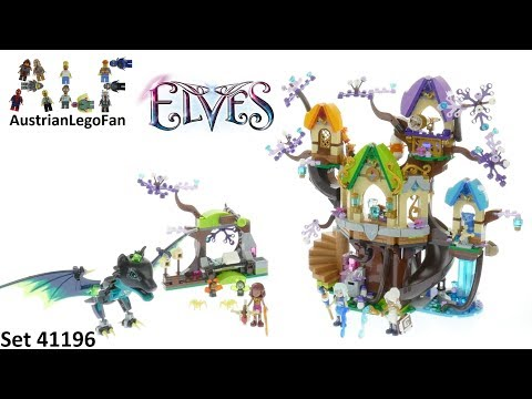Lego Elves 41196 The Elvenstar Tree Bat Attack - Lego Speed Build Review