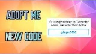 Adopt me new codes!