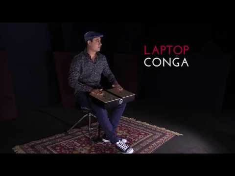 LP Laptop Conga with Miguelito León