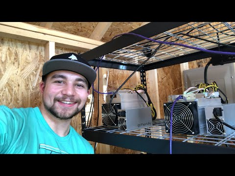 Vosk Live #2 Antminer A3 has landed! Hashing away at SIAcoin