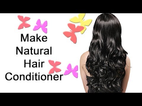 Natural Conditioner|Natural Hair Conditioner |Homemade Hair Conditioner|Get Smooth,Silky, Shiny Hair