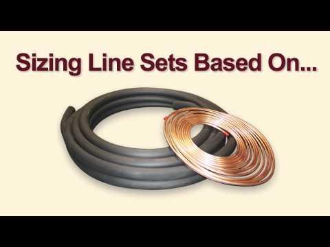 Sizing a Line Set