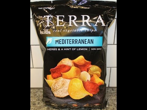 Terra: Mediterranean Vegetable Chips Review