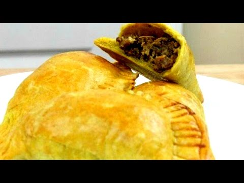 How to make Jamaican Turkey Patties Dough: Stuffing
