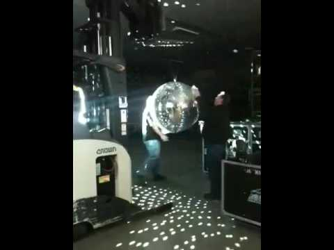 Mirror Ball Cleaning