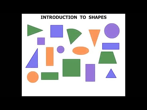 Kindergarten Lessons 2015: Introduction to Shapes