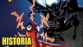 Spiderman Homecomic Spidey Vs Elektroblack Panther Historia Completa Spidey 7 8