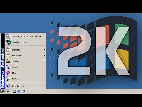 Windows 2000 Install Tutorial