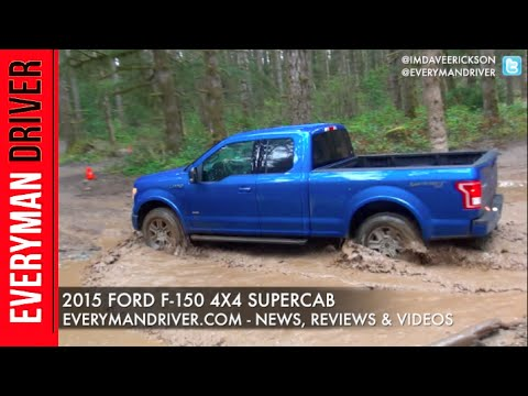 2015 Ford F-150 4x4 SuperCab on Everyman Driver (Off-Road Test Drive)
