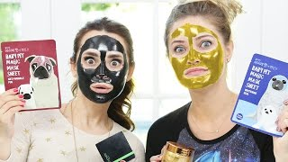 Download TRYING DIFFERENT FACE MASKS w/ iJustine! Video