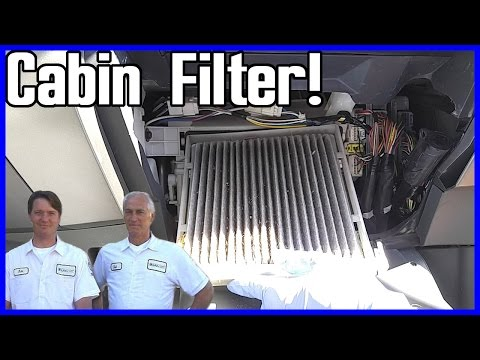 Cabin Air Filter Replacement Toyota Prius 2003-2009