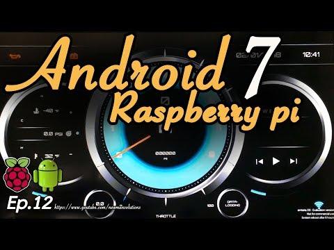 New Android 7.1.2 on Raspberry pi 3 - (EP12) RealDash virtual dashboard on android raspberry pi
