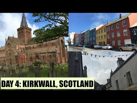 JUNE 20, 2016 | DISNEY CRUISE DAY 4: KIRKWALL, SCOTLAND
