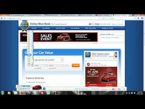 How to Estimate the Future Value & Depreciation of a Vehicle (Car, Truck, Motorcycle)